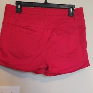 Mossimo Supply Co. Shorts - Red high waist shorts